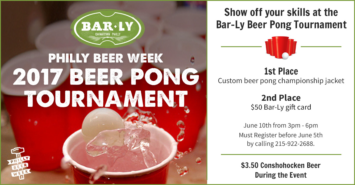 #PBW 17 Beer Pong Tournament