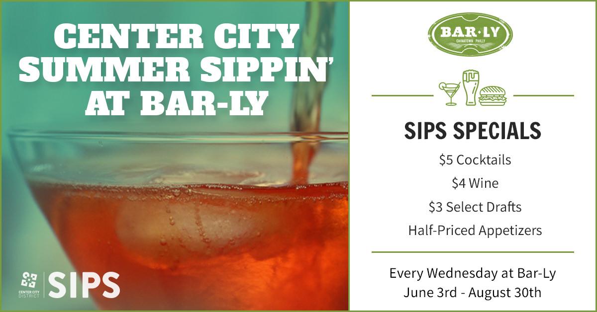 Center City SIPS at Bar-Ly